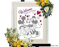 WISH 結婚式(ウエディング) 【Disney】 ウェルカムボード(ディズニー) キスユー(スタンダード)