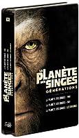 La Planète des singes : les versions 1968, 2001 et 2011 - Edition limitée boitier métal