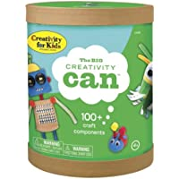 Creativity for Kids The Big Creativity Can - Open Ended Fun 100+ Craft Components [並行輸入品]