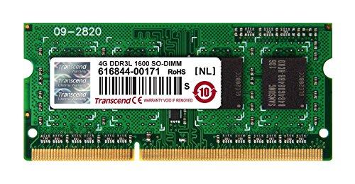 ジャパン Transcend ノートPC用メモリ PC3L-12800 DDR3L 1600 4GB 1.35V (低電圧) - 1.5V 両対応 204pin SO-DIMM TS512MSK64W6H