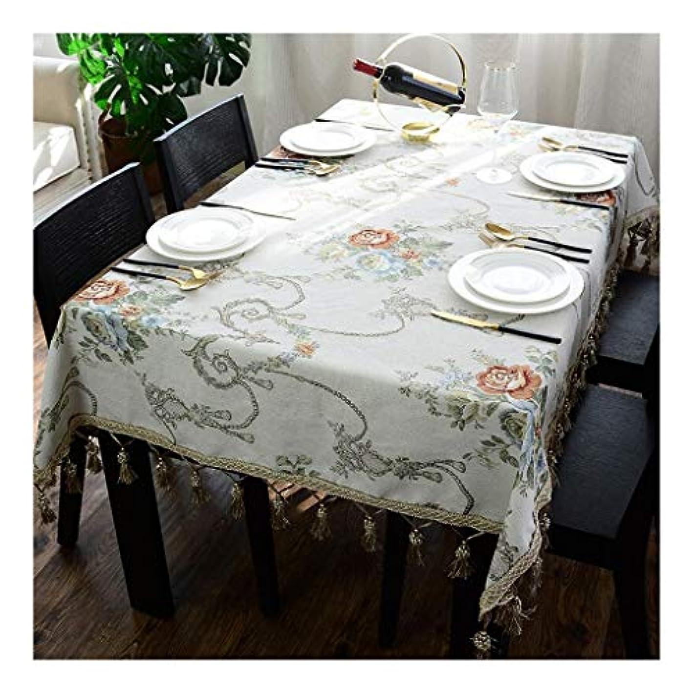 ポルノパスタ円形テーブルクロス長方形コーヒーテーブルテーブルクロスファブリックリビングルームホームダイニングテーブルクロスラグジュアリーホテルシェニールコットンとリネンスクエアテーブルクロステーブルマットブルー (Color : C, Size : 90*90cm)