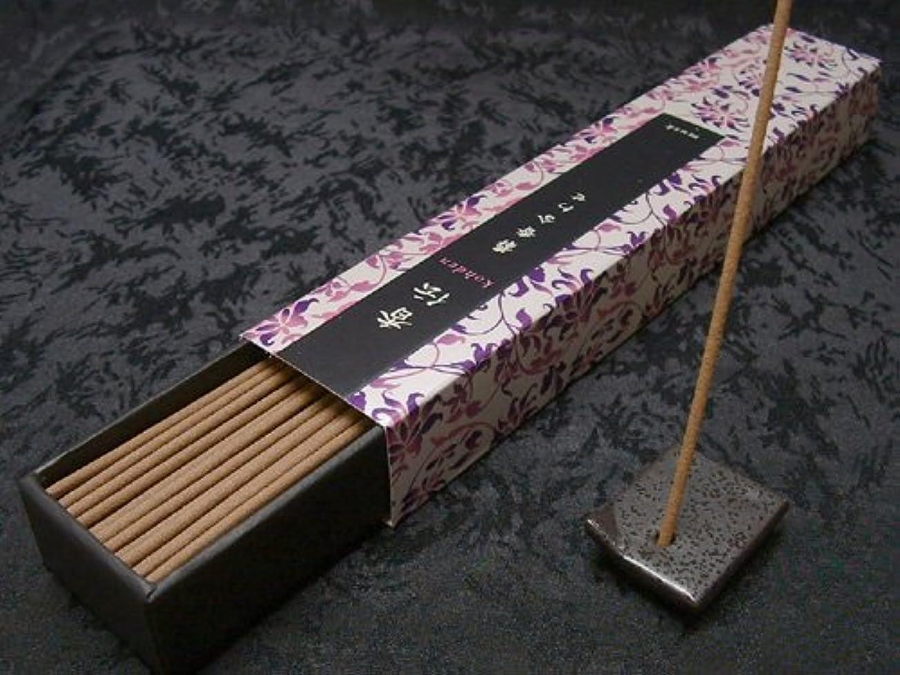 実験をする毎日起きて日本香堂のお香 香伝 麝香風合わせ