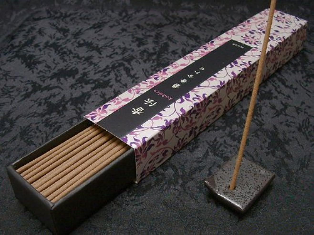 豆観点移民日本香堂のお香 香伝 麝香風合わせ