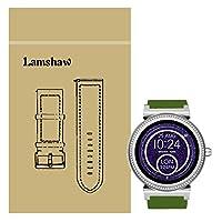 Lamshaw Smartwatch Band for MKアクセスSofie、クイックリリースクラシックシリコン交換バンドMKアクセスSofie Smartwatch