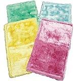 アズマ 『洗剤なしで拭き取れる』 ふしぎクロス 4色組