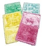 アズマ 洗剤のいらないふきん ふしぎクロス 4色組