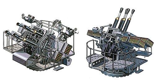 ファインモールド  WA36 1/700 英海軍 QF 2ポンド  ポンポン砲  四連装