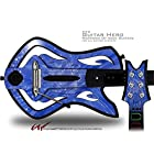 Stardust Blue Decal Style Skin - fits Warriors Of Rock Guitar Hero Guitar (GUITAR NOT INCLUDED) by WraptorSkinz [並行輸入品]