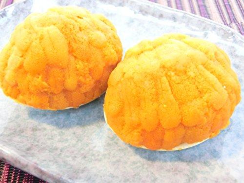 貝焼きウニ はまぐりの殻に山盛りのバフンウニ ロシア産 50g×2個 (100g)・貝焼きうに【2個】・