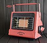 California Patio (カリフォルニアパティオ) カセットガスヒーター サーモンピンク PacificSalmonPink(低温時装置ジェネレーター搭載)(カセットガスストーブ仕様)