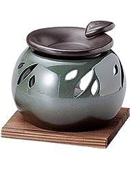 常滑焼 G1708 茶香炉  径10.5×高さ12cm