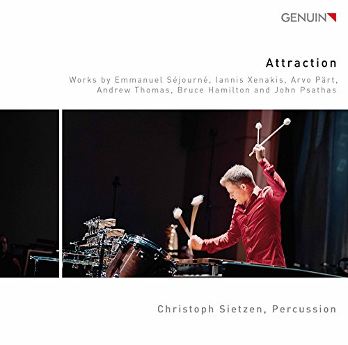 Attraction for Marimba, Vibraphone, Percussion & Tape