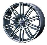 【マツダ CX-5(KE系)2012~】 ホイール:WEDS レオニス NAVIA 03_マットガンメタマシニングカット 8.0-19 5/114 タイヤ:YOKOHAMA GEOLANDAR SUV G055 225/55R19 (19インチ アルミホイールセット)