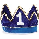 1st Birthday Boy PrinceパーティーSupplies – Plush Crown