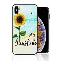 iPhone 6 Plus/6s Plus 携帯カバー You are My Sunshine 向日葵 みつばち カバー TPU 薄型ケース 防塵 保護カバー 携帯ケース アイフォンケース 対応 ソフト 衝撃吸収 アイフォン スマートフォンケース 耐久