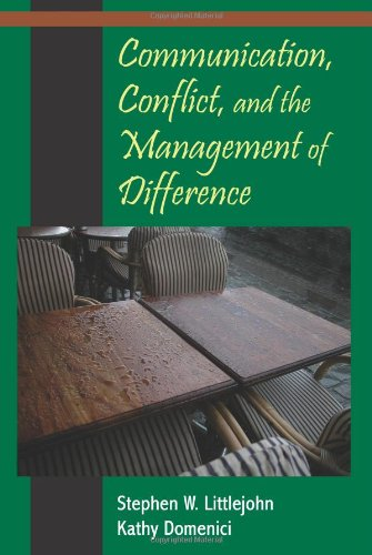 Download Communication, Conflict, and the Management of Difference 1577665031