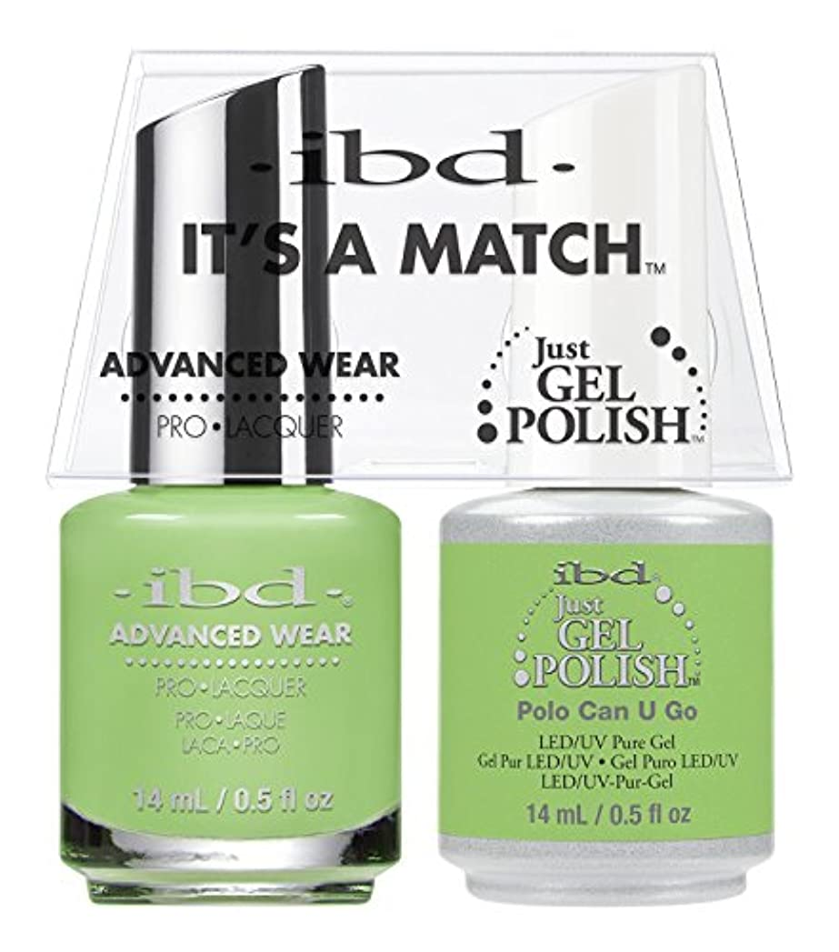 トリップハプニング強盗ibd - It's A Match -Duo Pack- Polo Can U Go - 14 mL / 0.5 oz Each