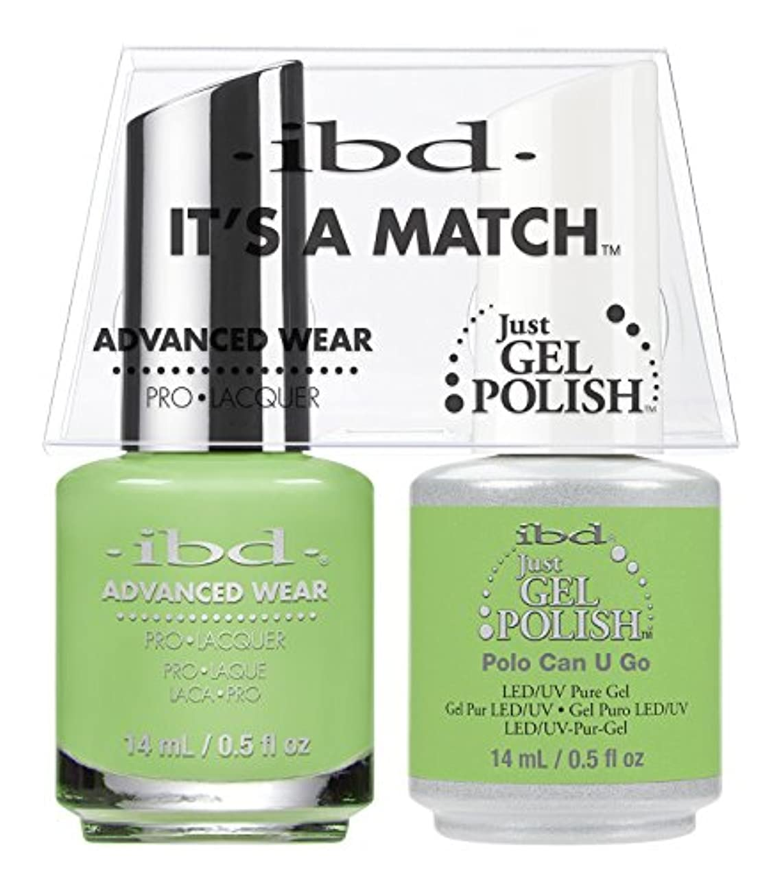 機転アンカー警告ibd - It's A Match -Duo Pack- Polo Can U Go - 14 mL / 0.5 oz Each