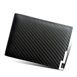 (エクスエイ)X.A カードケース 本革 カード入れ 名刺 定期 免許証 クレジットカード入れ 財布型 磁気消え防止 カードポケット 高級レザー (ブラックB)
