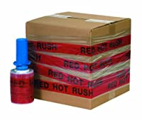 Goodwrappers GOODID5RHR RED HOT RUSH Identity-Wrap 5 x 80 Gauge x 500' (Pack of 6) [並行輸入品]