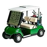 10L0L LCD表示ミニゴルフカート時計レースゴルフギフト (青)