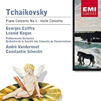 Tchaikovsky: Piano Concerto 1 Op. 23 / Violin Cto in D Op. 35 by Georges Cziffra