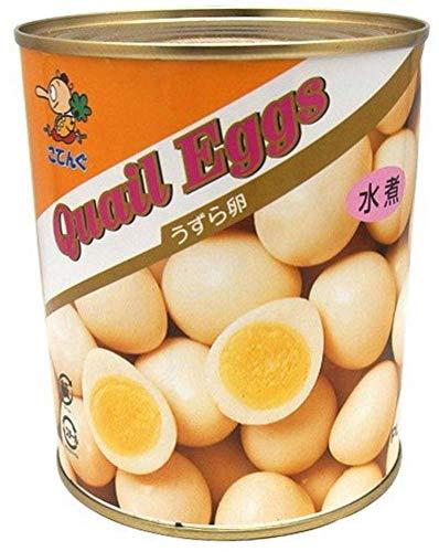 うずら卵水煮 2号缶