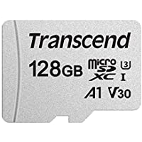 Transcend microSDXCカード 128GB 3D TLC UHS-I Class10 TS128GUSD300S