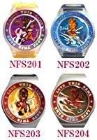 NBA OFFICIAL WATCH(エヌビーエー オフィシャル ウォッチ) TOONS Fun Swatch NFS201-204NBA プロバスケットボール 腕時計 ユニセックス腕時計(NBANFS201204) color NFS202
