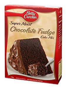 ベティクロッカーチョコレートファッジケーキミックス