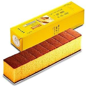 長崎心泉堂 長崎カステラ 幸せの黄色いカステラ 10切カットタイプ