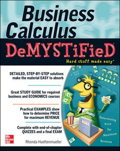 Download Business Calculus Demystified 0071451579