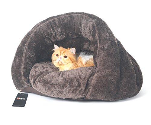 Bwiv ペット用寝袋 犬/猫 ベッド ペットハウス クッシ...