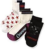converse スニーカー (コンバース)CONVERSE 3足組 3226-11D,3226-12D,3226-14D レディースソックス(022,090,050)