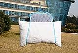 YingKu(英クール) 枕 ハンガー 枕干し ぬいぐるみ クッション 洗濯 乾燥 物干し (ブルー)