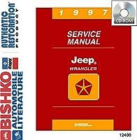 1997ジープWrangler Shopサービス修復手動CDエンジンDrivetrain電気