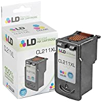 LD テつゥ Canon CL-211XL High Yield Color Remanufactured Inkjet Cartridge by LD Products