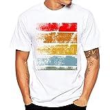 ルテンズ(Lutents)Tシャツ メンズ 半袖 ドライ素材 スポーツ 吸水速乾 ロゴ カラフル プリント 父の日 おしゃれ シンプル 彼氏 プレゼント  (M, Aタイプ)