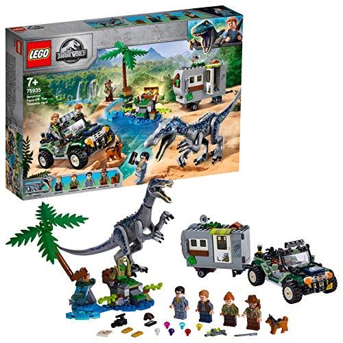 レゴ(LEGO) ジュラシック・ワールド バリオニクスの対決トレジャーハント 75935