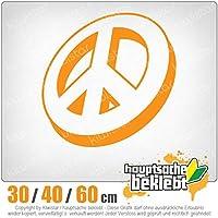 KIWISTAR - Peace Signs - Peace Signs 15色 - ネオン+クロム! ステッカービニールオートバイ