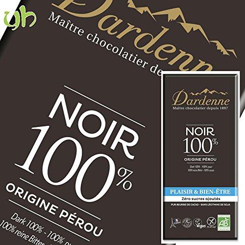 [3枚] カカオ 100% ダーデン 有機チョコレート ダーク 70g