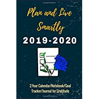 Plan and Live Smartly: Plan for Great and Successful Years (2019-2020) (2-Year Calendar/Notebook/Weekly Goal Planner)