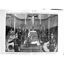 1901気違いのムラーのAbdullahの葬儀の皇后のFrederick Cronberg教会ウィリアムのBier