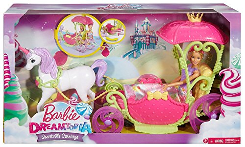 Barbie バービードリームトピア Sweetvilleキャリッジ/Sweetville Carriage [並行輸入品]