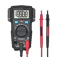 Adm66デュアルスロットマルチメータデジタルオートレンジ電気計マルチメータTrms 6000カウント電圧アンプ容量周波数温度Vアラートオームダイオードテスターメーター