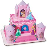 Decopac Disney Princess Happily Ever After Signature DecoSet Cake Topper 4.8 L x 2.5 W x 6 H Pink