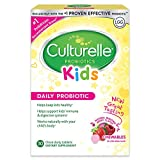 Culturelle Kids Chewable Daily Probiotic for Kids | Natural Berry Flavor Daily Supplement | 30 count | Age 3+ | 100% Naturally Sourced Lactobacillus GG -The Most Clinically Studied Probiotic