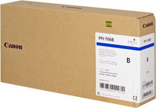 インクタンク ブルー PFI-706B 6689B001
