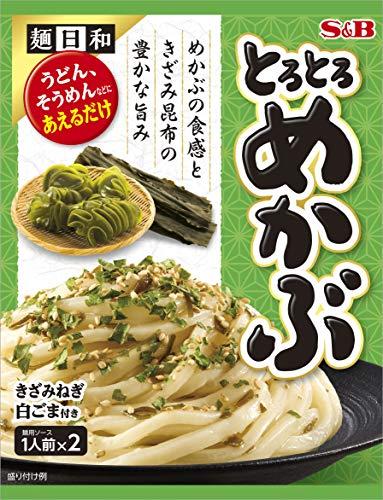 エスビー食品 S&B 麺日和 とろとろめかぶ 1セット 5個