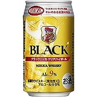 ブラックニッカクリア ハイボール缶 350ml×24本